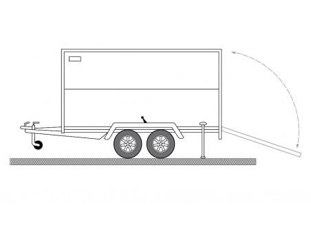 Remorci carosate (furgon)