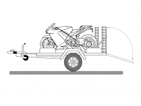 Remorci transport moto - ATV